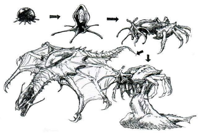 File:Concept Art - Godzilla vs. Destoroyah - Destoroyah Metamorphosis.png