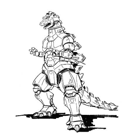 File:Concept Art - Godzilla Against MechaGodzilla - Kiryu 30.png