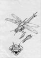 Concept Art - Godzilla vs. Megaguirus - Meganula 4