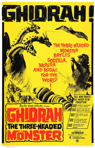 File:Ghidorah the Three-Headed Monster Poster United States.png