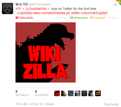 File:MUTOresearch mentioned Wikizilla on Twitter!.png