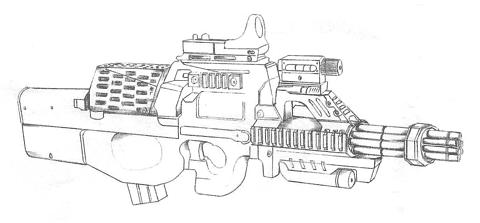 File:Concept Art - Godzilla Final Wars - Gatling Gun.png