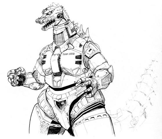 File:Concept Art - Godzilla vs. MechaGodzilla 2 - MechaGodzilla 7.png