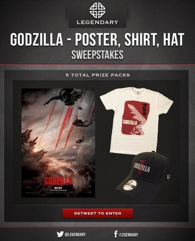 File:Godzilla - Poster, Shirt, Hat.png