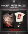 Godzilla - Poster, Shirt, Hat