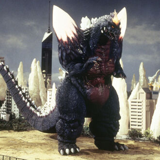 SpaceGodzilla in Godzilla vs. SpaceGodzilla (click to enlarge)