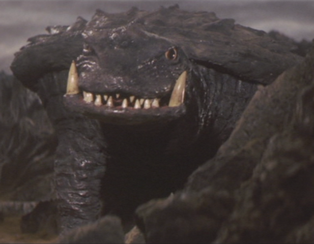 File:Gamera - 5 - vs Jiger - 10 - Gamera arrives to fight Jiger.png