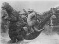 SOG - Minilla On Godzilla's Tail