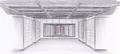 Concept Art - Godzilla Final Wars - UN Data Room