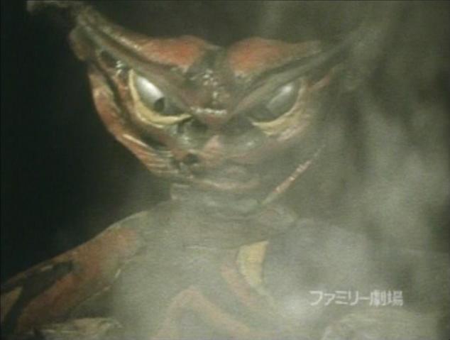 File:Go! Greenman - Episode 3 Greenman vs. Gejiru - 3 - GEJIRU.png