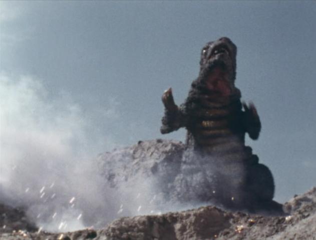 File:Go! Godman - Episode 6 Godman vs. Gorosaurus - 32 - Less talk, more shimmy.png