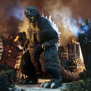 The SokogekiGoji as it is seen in Godzilla, Mothra and King Ghidorah: Giant Monsters All-Out Attack