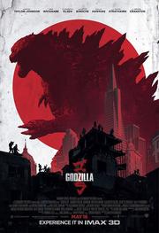 Godzilla 2014 IMAX Poster