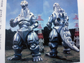 Mechagodzilla front and back