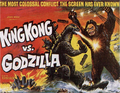 Godzilla Movie Posters - King Kong vs. Godzilla -American-