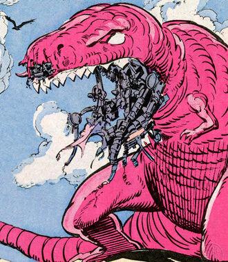 Robotic Devil Dinosaur