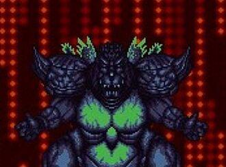 Super Godzilla as he is seen in Super Godzilla
