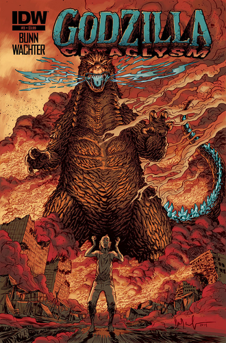 Godzilla Cataclysm Issue 3 CVR A