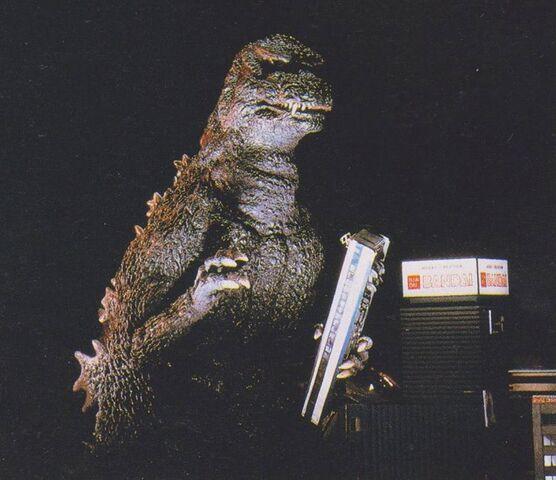 File:84Gojira The Return of Godzilla 1984 1985 Holds A Train.jpg