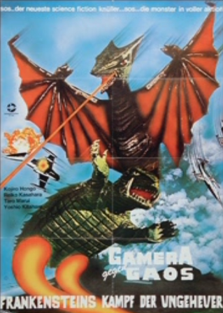 File:Gamera - 3 - vs Gyaos - 99999 - 7 - German Poster Frankenstein Strikes Again.png