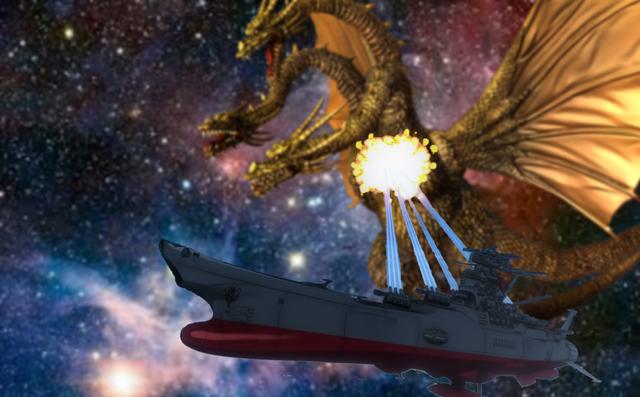 File:King Ghidorah vs Space Battleship Yamato.png