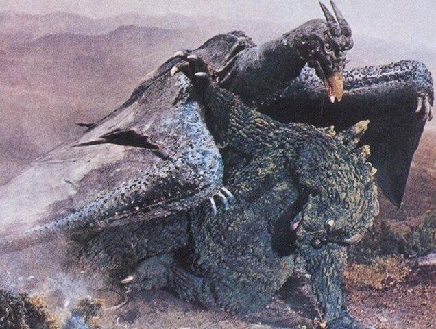 File:Ghidorah the Three-Headed Monster - Godzilla and Rodan.jpg