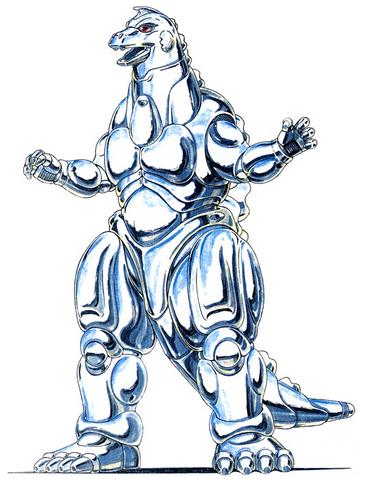 File:Concept Art - Godzilla vs. MechaGodzilla 2 - MechaGodzilla 9.png