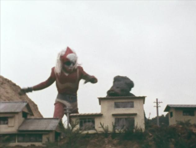 File:Go! Godman - Episode 6 Godman vs. Gorosaurus - 23 - Smack!.png