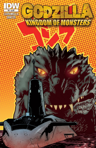 KINGDOM OF MONSTERS Issue 9 CVR A