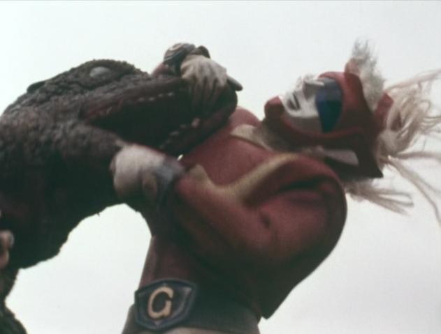 File:Go! Godman - Episode 6 Godman vs. Gorosaurus - 29 - Megalo Fire! Oh wait, wrong show.png