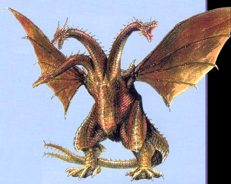 File:Concept Art - Rebirth of Mothra 3 - Cretaceous King Ghidorah 2.png