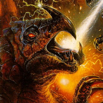 Burtannus as it is seen in Godzilla, King of the Monsters Issue 13