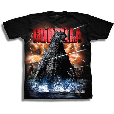 File:Godzilla 2014 Godzilla Boys Short Sleeve Graphic T-Shirt.jpg