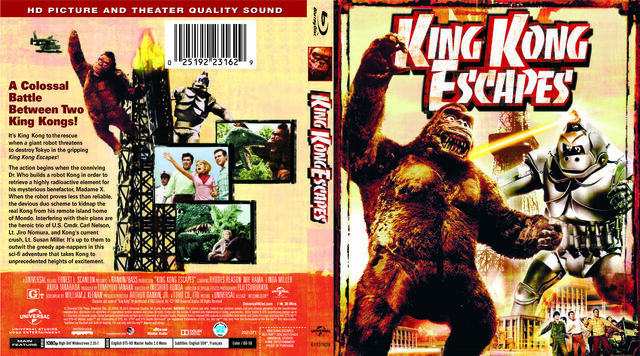 File:Godzilla Movie DVDs - King Kong Escapes Blu-Ray -Universal Home Entertainment-.jpg