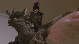 Garu Garu in Rebirth of Mothra (click to enlarge)