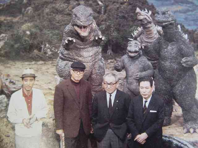 File:Behind Kaiju Soshingeki with Gorosaurus SoshingekiAngira ShodaiMinira and SoshingekiGoji.JPG