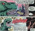 J. Jonah yells at Godzilla