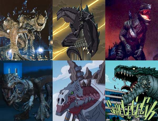 File:TriStar Godzillas and Toho Zillas.png