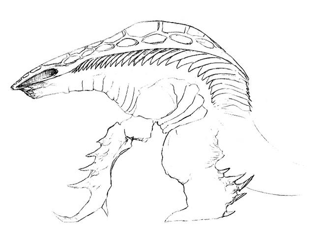 File:Concept Art - Godzilla 2000 Millennium - Orga 50.png