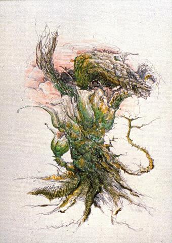 File:Concept Art - Godzilla vs. Biollante - Biollante 14.png