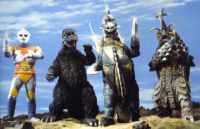 File:Godzilla gigan megalon jetjaguar.jpg