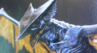 Gyaos as he is seen in Gamera: The Brave (click to enlarge)