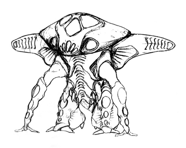 File:Concept Art - Godzilla 2000 Millennium - Orga 33.png