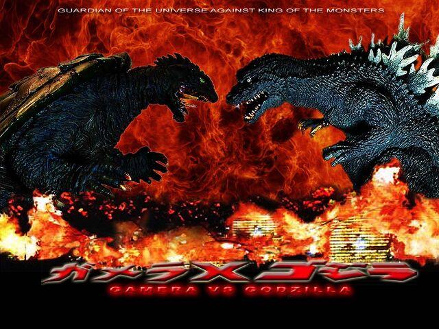 File:Gamera vs godzilla coming soon by rumper1-d7pi2sh.jpg