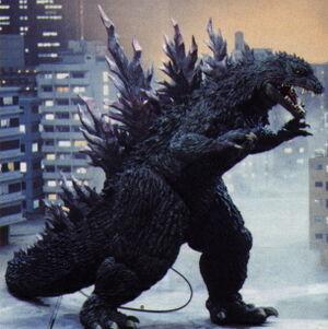 The MireGoji as it is seen in Godzilla 2000: Millennium