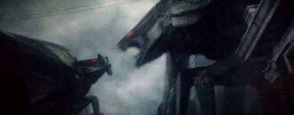 Los dos MUTOs en Godzilla