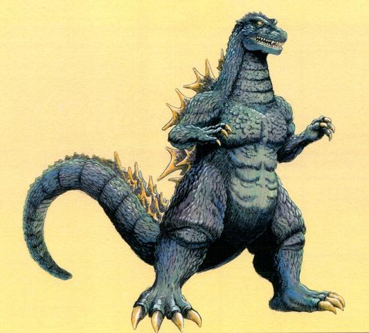 File:Concept Art - Godzilla vs. Destoroyah - Godzilla Junior 14.png