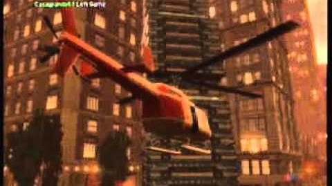 GTA IV- Godzilla Attacks Liberty City