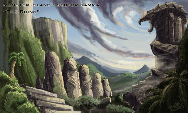 File:Monster Island The Ruins by KaijuSamurai.jpg