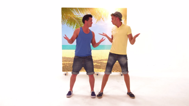 File:Carl and Steve Shrugging in Blue Sky Sunshine Day (The Go!Go!Go! Show, Nick Jr.).png